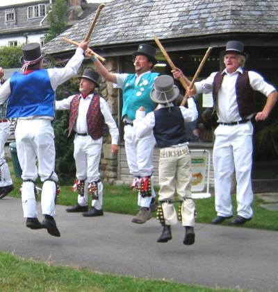 In action with Tinners' Morris
