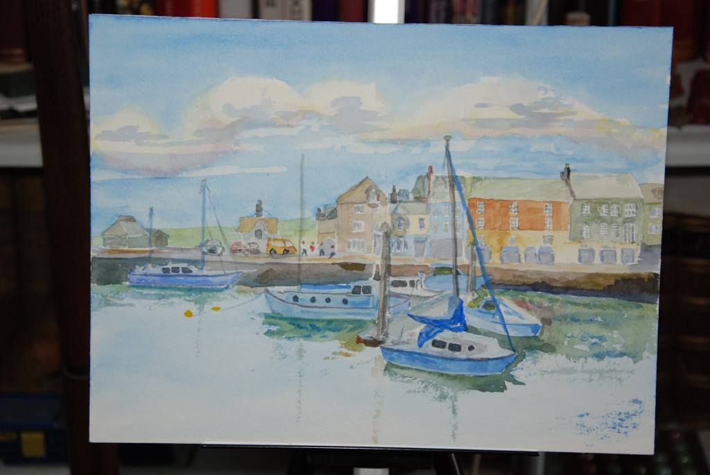 Rough sketch of Padstow